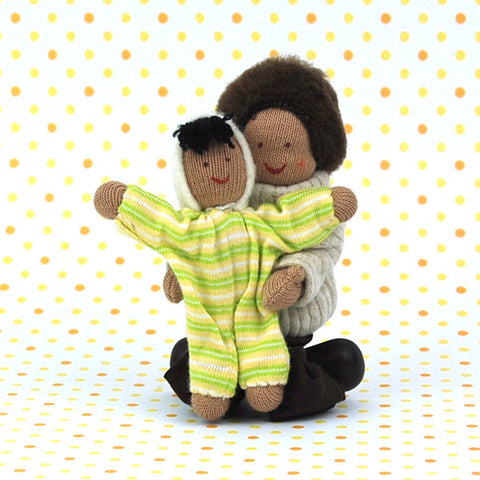 Eco-Friendly Dollhouse Doll Baby Sugar Pea