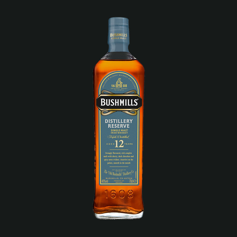 Bushmills Distillery Reserve 12 Year old Single Malt Irish Whiskey