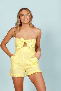 Daisy Says Sunflower Playsuit-Salt Lines Design