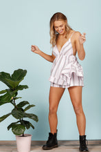 Load image into Gallery viewer, Daisy Says Squeeze Me Playsuit-Salt Lines Design