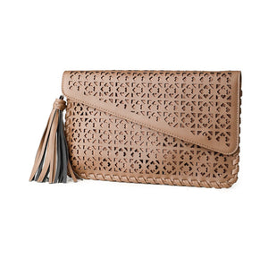 Captivated Soul Ladies Clutch Rosa-Salt Lines Design