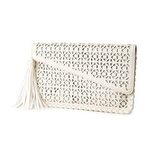 Load image into Gallery viewer, Captivated Soul Ladies Clutch Rosa-Salt Lines Design