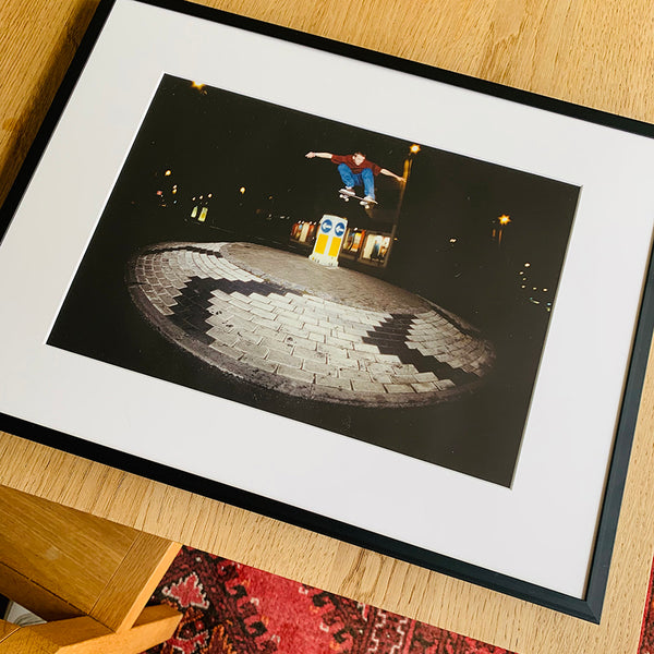 Limited Edition Framed Photo (Harry Bastard - roundabout ollie)