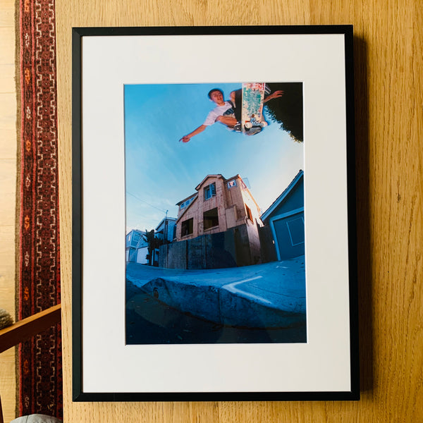 Limited Edition Framed Photo (Geoff Rowley - Curb Cut Ollie)