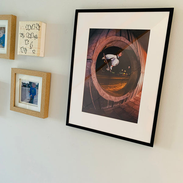 Limited Edition Framed Photo (Ali Boulala - Fullpipe Melon)