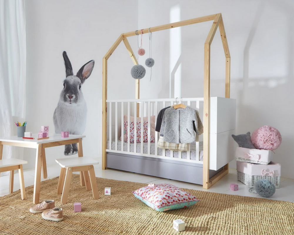 interie pinette cot bed