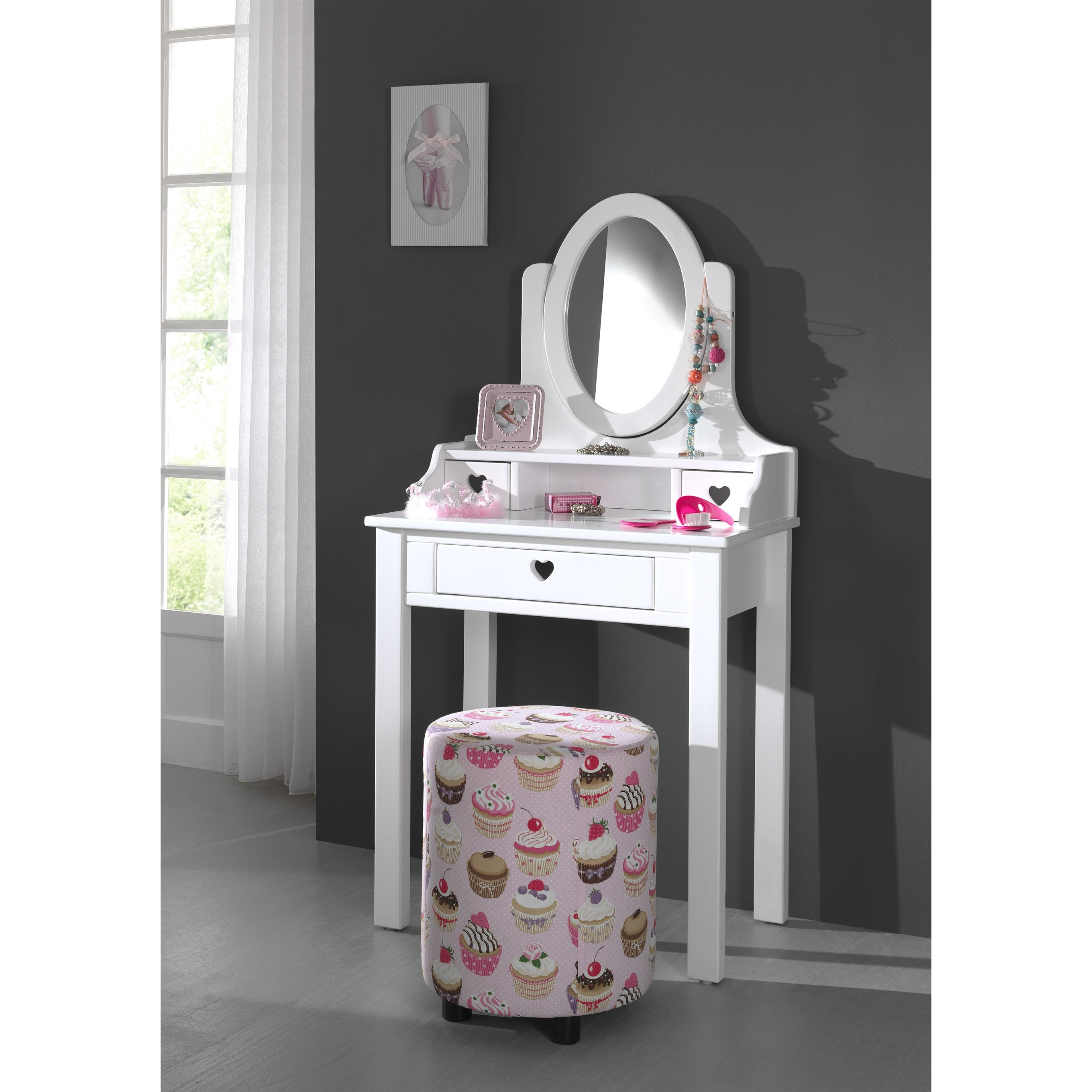Amori - Kids Dressing Table