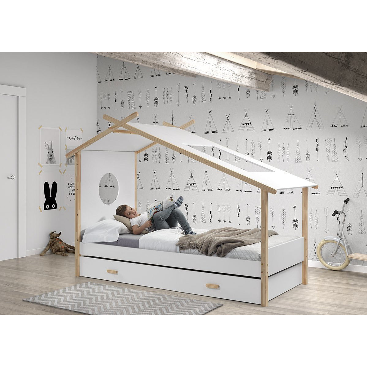 Trundle Drawer for Cocoon Kids House Bed