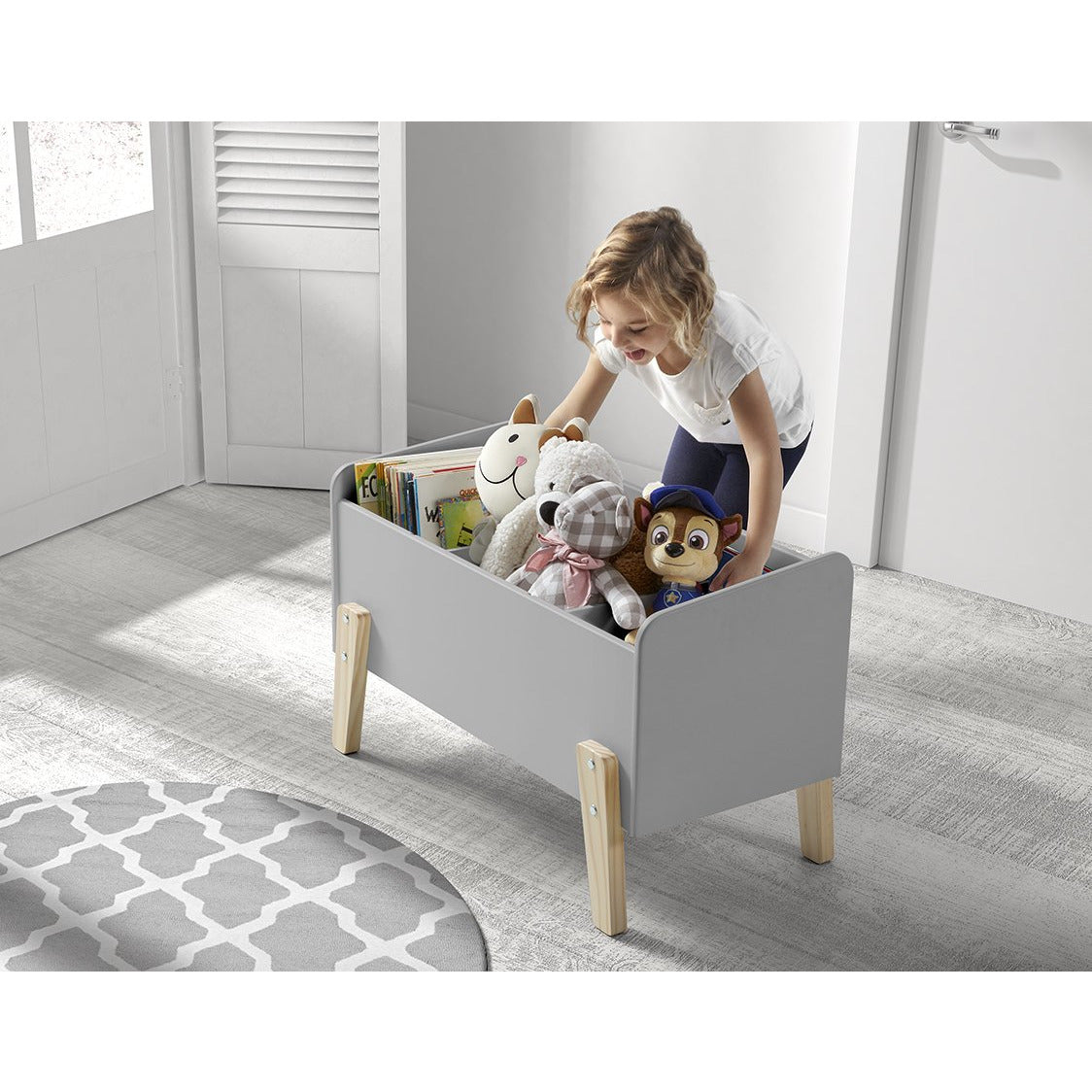 Kiddy - Wooden Kids Toy Box