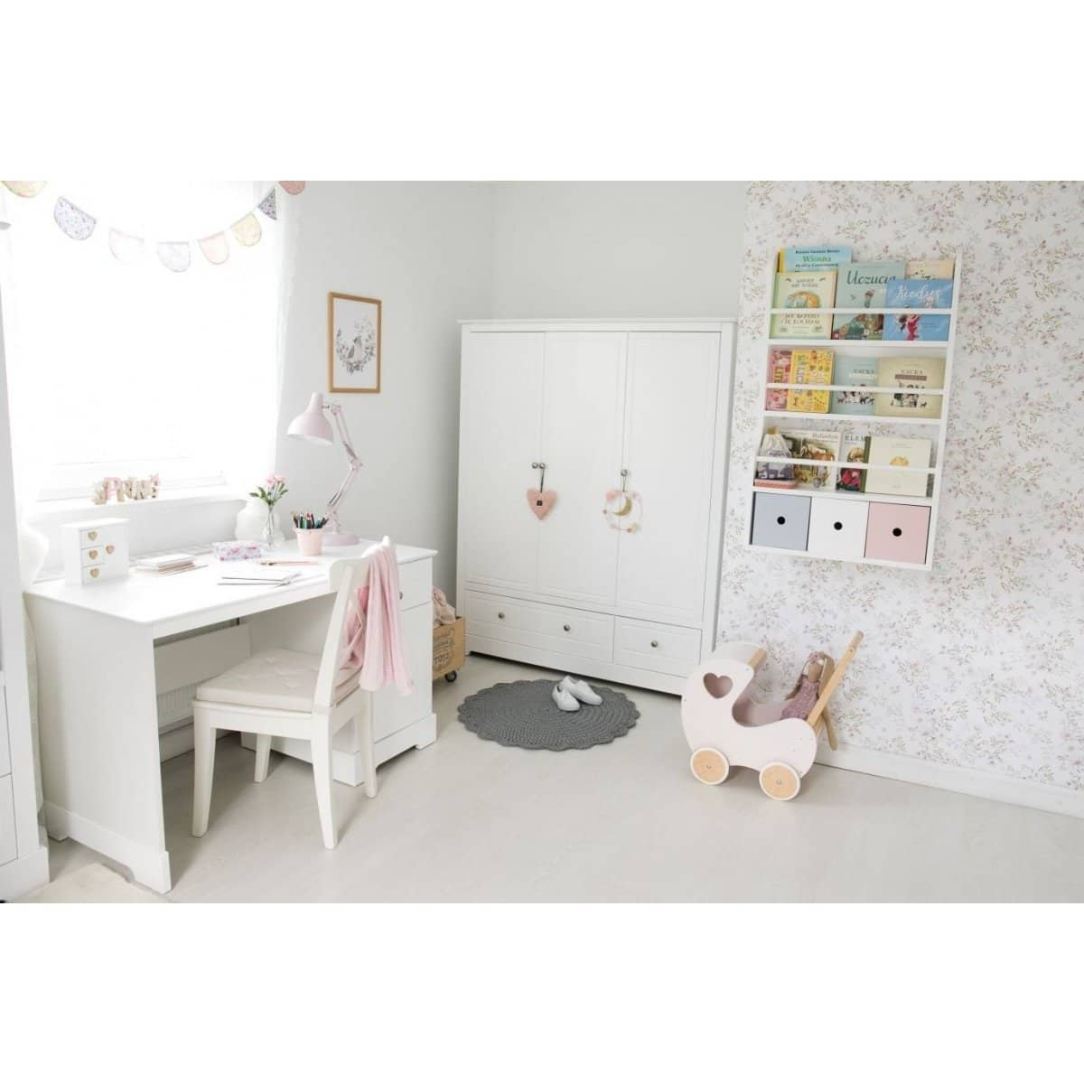 Marylou Young Users - Kids Computer Desk in White  from interie furniture