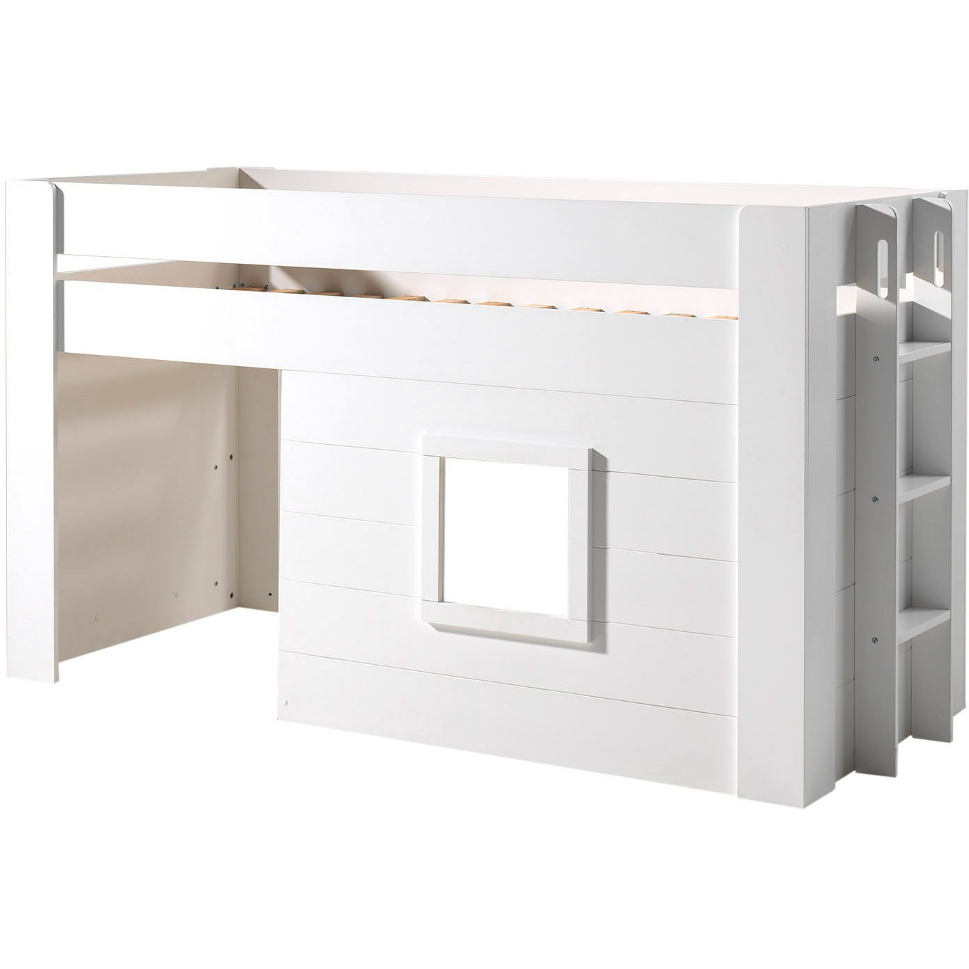 Noah - Mid Sleeper Bed in White