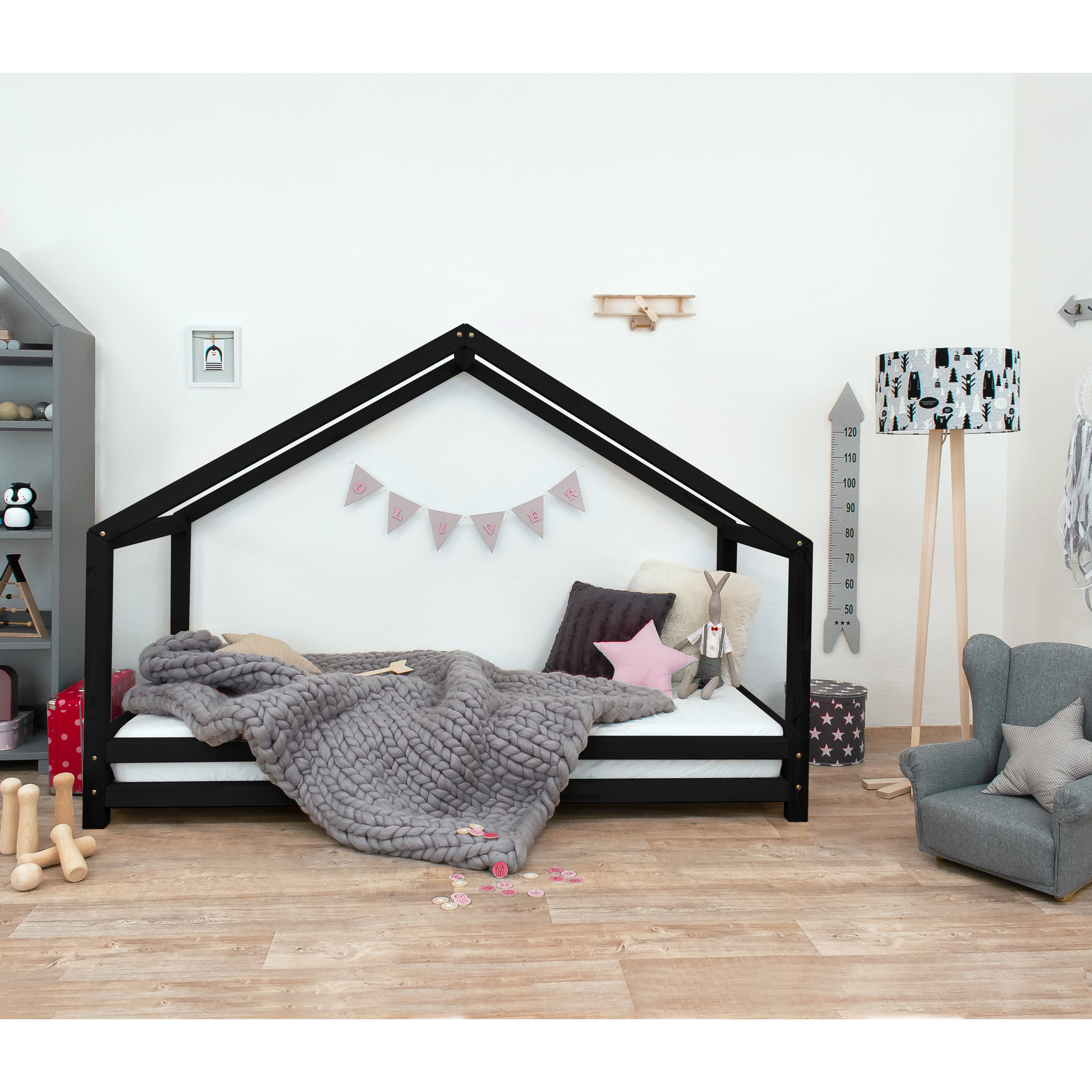 Sidy - Kids House Bed