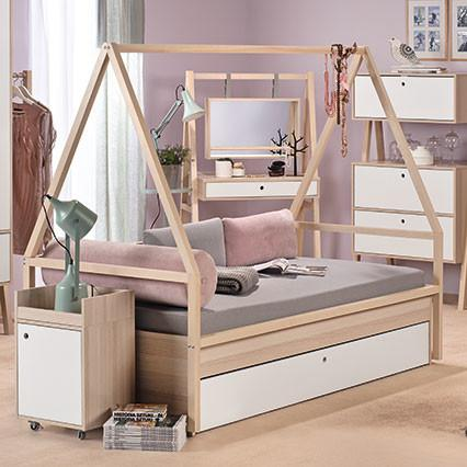 Tipi Trolley Frame for Spot Single Bed