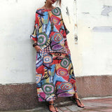 Brilliant Printed Cotton Maxi