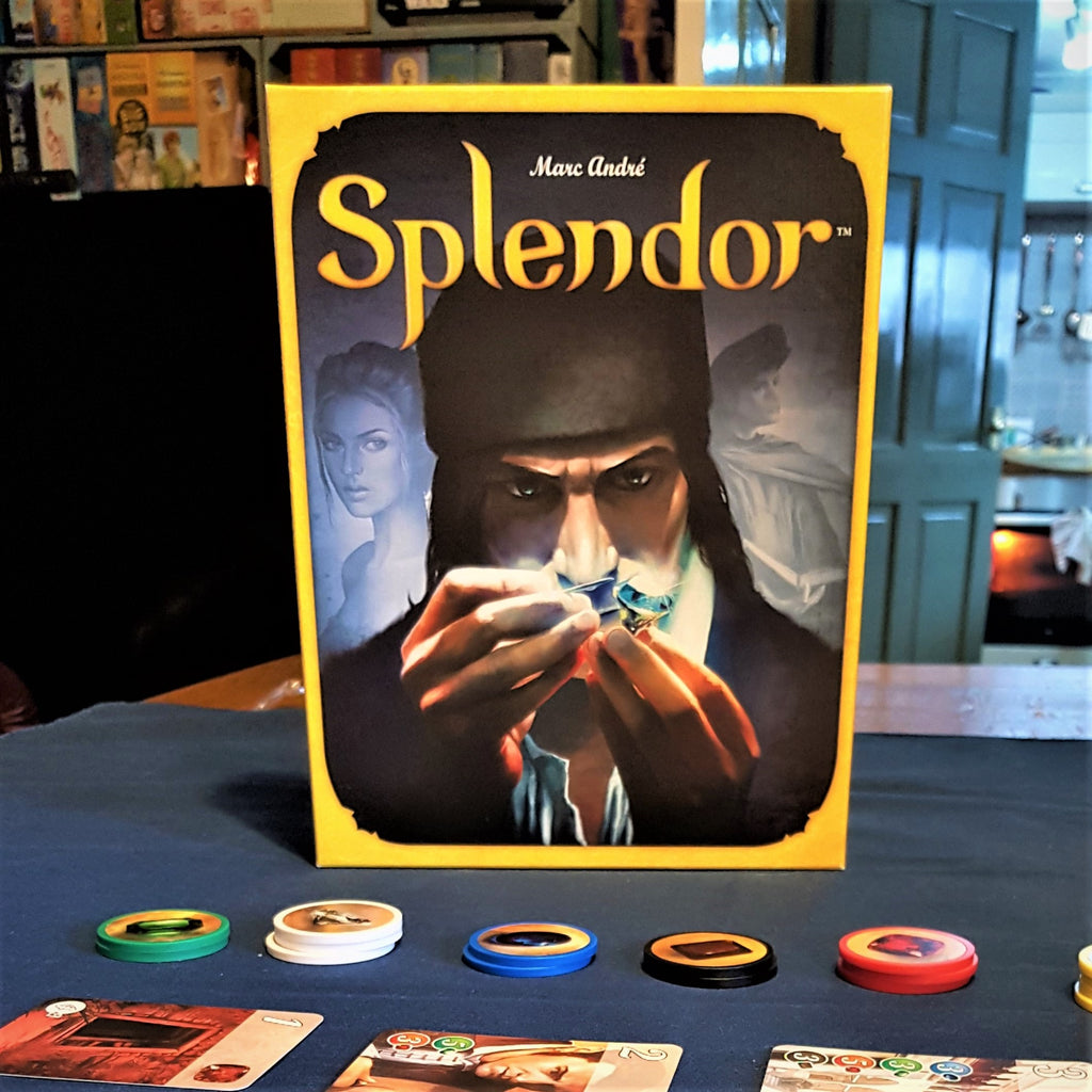 Review - Splendor - So who doesn't like chips?