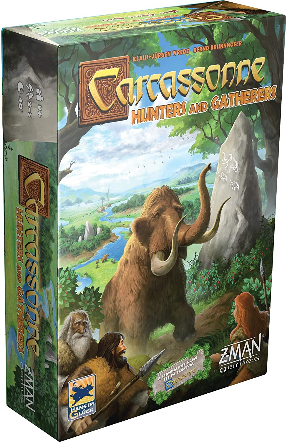 Carcassonne: Hunters and Gatherers (2020)