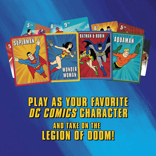 Play as your favourite DC Comics Character in Challenge of the Superfriends
