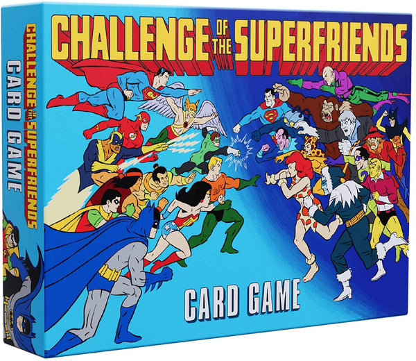 Challenge of the Superfriends Card Game by Cryptozoic Entertainment