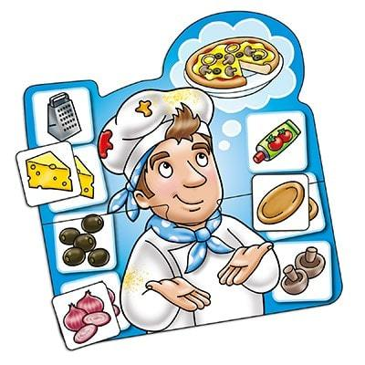 Crazy Chef game by Orchard Games for age 3-6 year olds