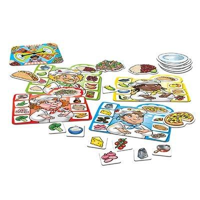 Collect ingredients and utensils to help your chef cook a tasty dish in this fun matching game by Orchard Games.