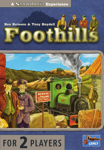 Foothills Lookout Games - 2 player game