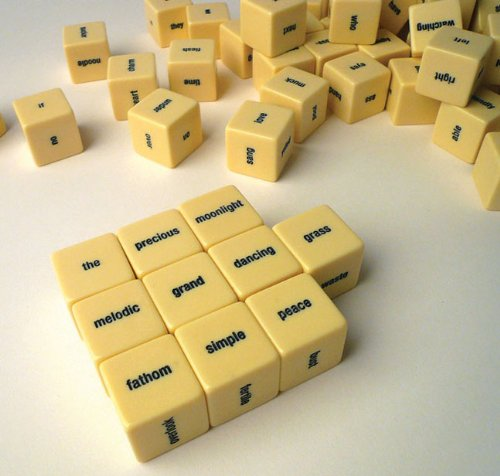 Haikubes dice game