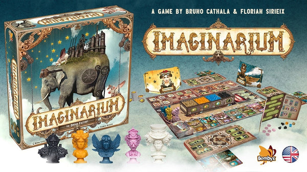 Imaginarium - Welcome to the dream factory! A game by Bruno Cathala and Florian Sireix