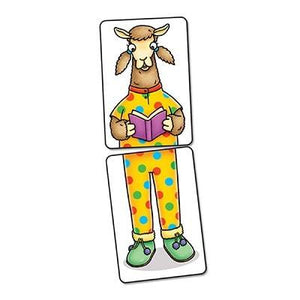 The quirky llama characters in their silly pairs of pyjamas are bound to get children giggling!