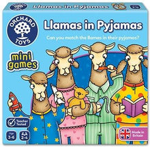 Load image into Gallery viewer, Orchard Toys Llamas in Pyjamas Mini Game