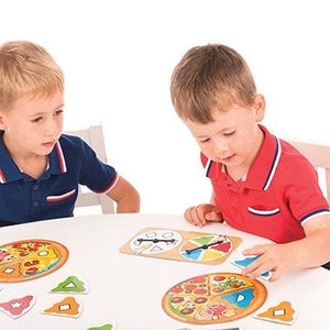Pizza Pizza by Orchards Toys - An exciting colour and shape matching game for all the family.