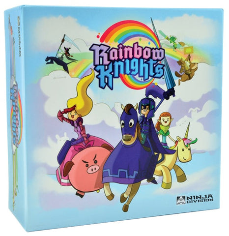 Rainbow Knights is a fast-paced real-time card game by Ninja Division.