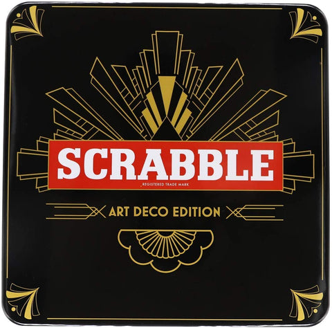 Scrabble Art Deco Edition by Tinderbox Games
