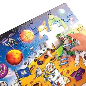Orchard Toys whos in space jigsaw Puzzle size 42 x 30cm. 25 pieces. Suitable for age 3+