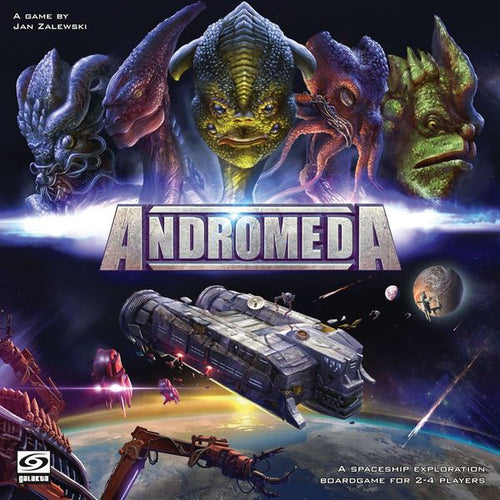 Andromeda board game by Jan Zalewski