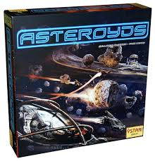 Asteroyds boardgame by Ystari Games