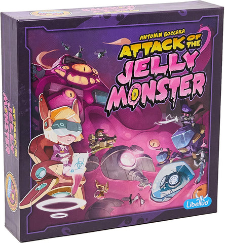 Attack Of The Jelly Monster boardgame by Antonin Boccara