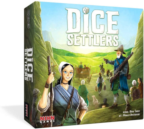 Dice Settlers is a fantastic 1-4 player dice game with great area control and exploration elements.  By NSKN Games