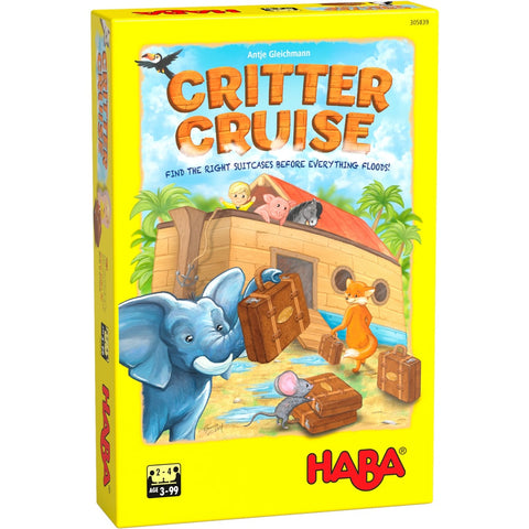 HABA Critter Cruise Game for Kids - BoardHoarders