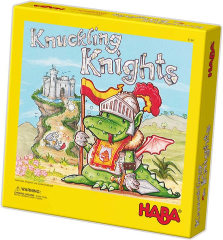 HABA Knuckling Knights kids game for age 4 + - BoardHoarders