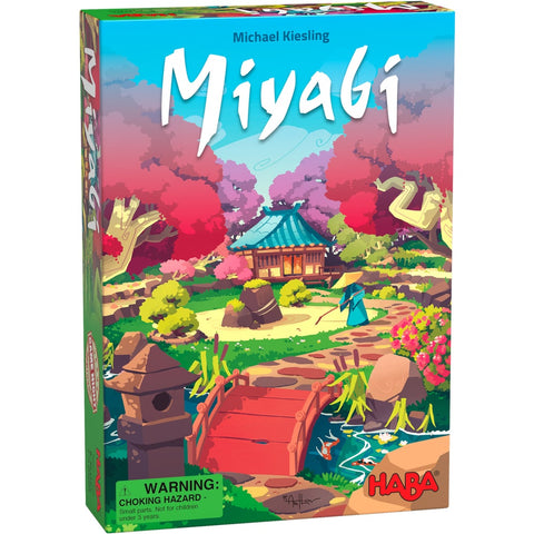 HABA Miyabi is a fantastic multi-Layered Tile Placement Japanese Garden Growing Game by renowned designer Michael Kiesling - BoardHoarders