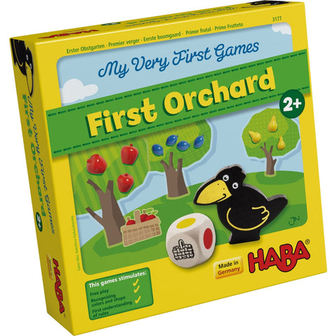 HABA My Very First Games - First Orchard. For ages 2 and up. BoardHoarders