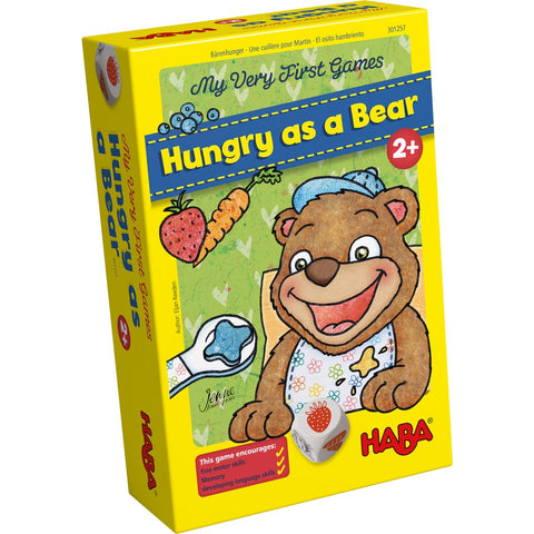 HABA My Very First Games - Hungry as a Bear  for age 2 and up. BoardHoarders