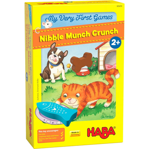 HABA My Very First Games - Nibble Munch Crunch. For kids age 2 and up. BoardHoarders