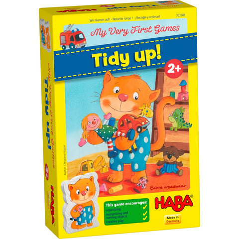 HABA My Very First Games -  Tidy Up! For age 2 and over. BoardHoarders