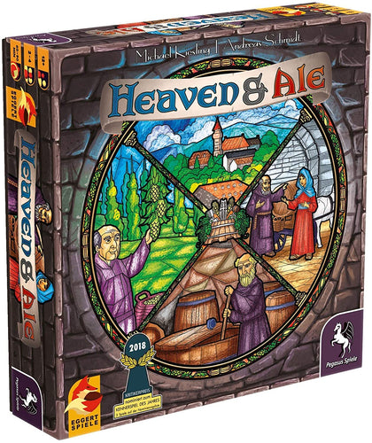 Heaven & Ale is a brilliant combination of careful decision-making, rich tactics, and skillful play - all themed around an ancient monastery and beer!