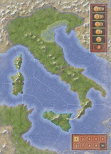 Load image into Gallery viewer, Italia Board Game Eleven Centuries of Conquest  - Board
