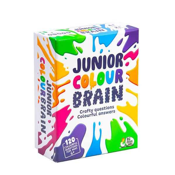 Junior Colourbrain Mini - crafty questions and colourful answers by Big Potato