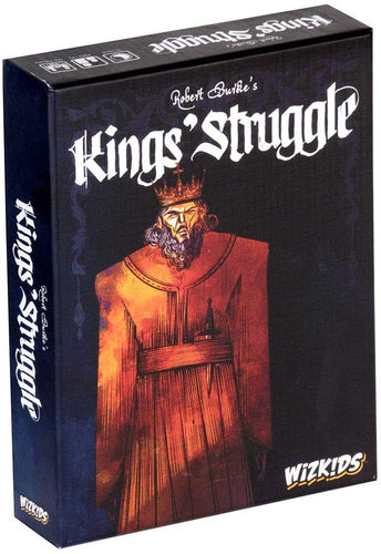 Kings' Struggle is a trick-taking card game with negotiation and set collection mechanics. By WizKids