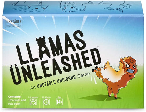Llamas Unleashed an Unstable Unicorns Game