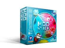 Load image into Gallery viewer, Moo Stick by Captain Macaque - Aliens from the planet Moo are planning to invade the Earth! You are the captain of a squadron of gluing saucers and your mission is to prepare for the great invasion by searching the home of these strange humans.